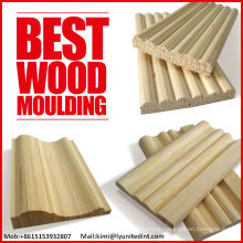 Decorative wood moldings Solid wood mouldings Embossed wooden mouldings