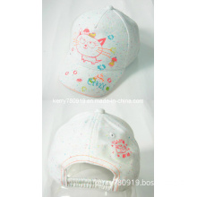 100% Cotton Embroidery and Printing Cotton Kid Cap