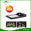 New Arrival 850 Lumens 48 LED Solar Powered LED Motion Sensor Light Outdoor Garden Yard Street Lamp