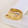 11584-China Xuping Fashion Elegant For Woman With 18k gold Plated Wedding Rings