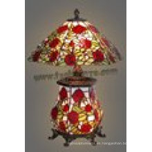 Decoración para el hogar Tiffany lámpara de mesa de la lámpara Klg162448b