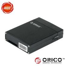 """HDD Protector Negro Plata de aluminio de metal HDD protector, caja, caja de protección caja HDD protección 3.5 """"venta caliente"""