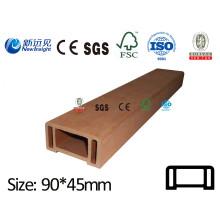 WPC Handlauf WPC Geländer WPC Fecne mit SGS CE ISO Fsc Holz Kunststoff Verbund Geländer Handlauf Lhma060