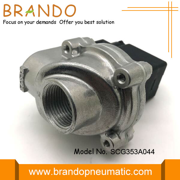 Integral Pilot Threaded Body Pulse Valve SCG353A044
