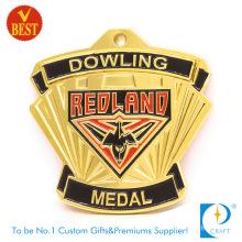 Customized Cheap Metal Souvenir Gold Honor Medal