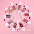 High Pigment Matte Liquid Lipstick Beauty Makeup Sets Lipstick Set Private Label Low MOQ 2 In 1 Lipstick and Lipliner