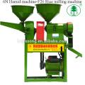 Máquina combinada de molino de harina de arroz y trigo Hamid