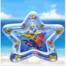 Wholesale Eco-friendly PVC Tummy Time Early Educational Inflatable Turtle Shape Baby Play Mats With Water