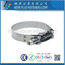 Taiwan Stainless Steel Heavy Torque Big Size Schlauchklemmen Hose Clamp