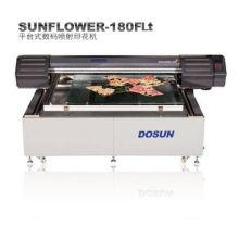 High Resolution 1440dpi Textile Ink-jet Digital Flatbed Printer 1800mm × 1500mm