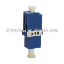 Fuente de fábrica único modo 5dB 7dB 10dB 15dB 30dB LC / UPC atenuador óptico de fibra