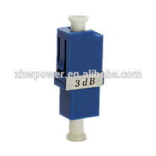 Factory supply singlemode 5dB 7dB 10dB 15dB 30dB LC/UPC Fiber Optic Attenuator