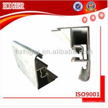 Perfil de janela de extrusão de alumínio personalizado