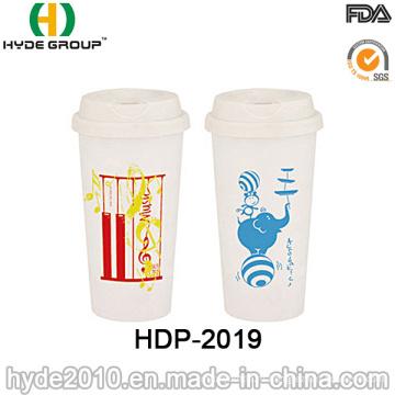 Управление/по санитарному надзору за качеством сертификация двойные стены Пластиковые кружка кофе (ДПН-2019)