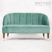 Combinações de cores de tecido estofado lounge suite para conjunto de sofá de madeira