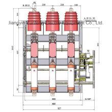 Yfzrn25-12D / T125-31.5 AC Hv Interruptor de carga de vacío con unidad de combinación de fusibles