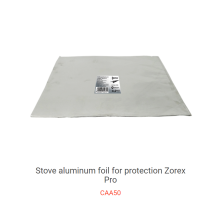 Estufa de gas de alta temperatura Papel de aluminio Papel anti-aceite