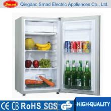 Home use solar system battery powered single door mini fridge
