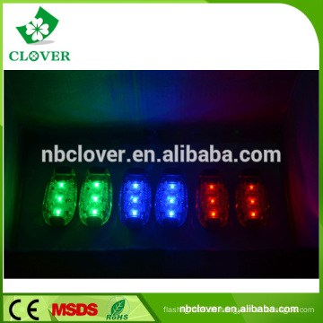 5 in 1 Mini blinkende Notfall LED Warnleuchte für Fahrrad