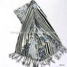 Cashmere feel acrylic scarf