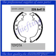 K2268 04495-20040 0449720050 0449720051 0449520040 0449720041 0449520160 04497-20041 04495-20160 pour Toyota en retirant les mâchoires de frein