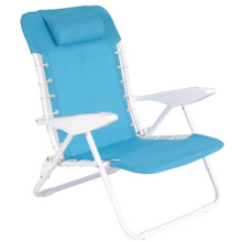 Раскладное пляжное кресло с подушкой (СП-152)