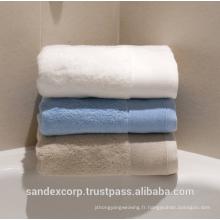 Serviettes de toilette en coton biologique