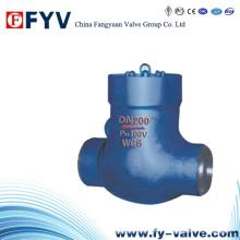 Válvula de retención tipo Y de alta presión