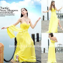 Astergarden Foto real Sweetheart Chiffon Evening Dress WLE64