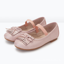 Tassel Style Kids Funky Shoes For Girls Newest Basic Style Shoes