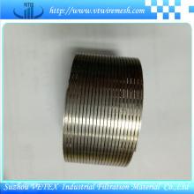 Malla de tamizado de minas de acero inoxidable 316
