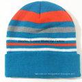 Alta calidad de promoción de gorrita tejida de sombrero personalizado logo diseño beanie