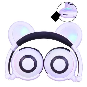 Electrónica de consumo Auriculares con orejas Panda brillantes