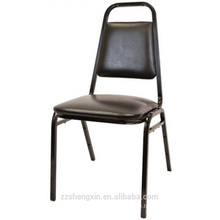 Commercial Stack Chair With Thick Cushion