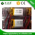 Batería de polímero de litio P502030 para auriculares bluetooth