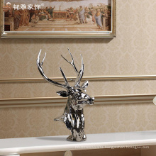 Christmas house display craft interior decoration items resin deer for home decor