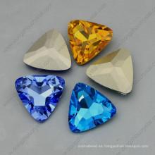 Triangle Shape Ab Color Crystal Point Espalda Fancy Stone
