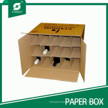 High Quality Wine Shipping Boxes with Dividers