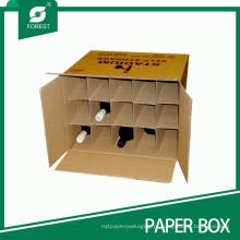 Caixas de transporte de vinho de alta qualidade com divisores