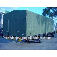 Усиленный хлопок холст брезент (крышка грузовика, палатка)