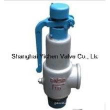 Soupape de sécurité basse pression nette pour eau, jet, gaz (A28)