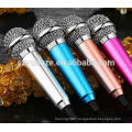 Microphone manufacturers wholesale selling mobile phone karaoke microphone sing/ mobile phone mini