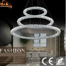 Modern European Crystal Chandelier Pendant Lamp for Coffee Shop
