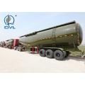 Remorque de vrac de ciment en forme de V 30-60 CBM