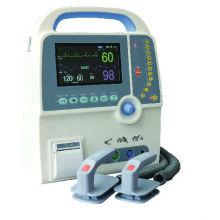 Equipo médico PT-9000c del monitor del desfibrilador de la emergencia