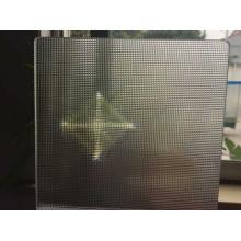 Призматическая рекламная световая панель из поликарбоната