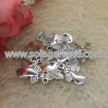 17 * 12MM Angel Charms Angel Hangers