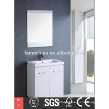 Europe type modern slim bathroom cabinets