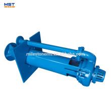 Pompe centrifuge verticale à eaux usées pour l'exploitation minière