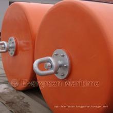 Cylindrical Buoy, Support Buoy, Pick up Buoys, EVA Foam Buoyancy Buoys with PU Skin